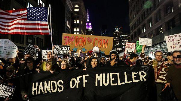 Protestas contra Trump por todo Estados Unidos