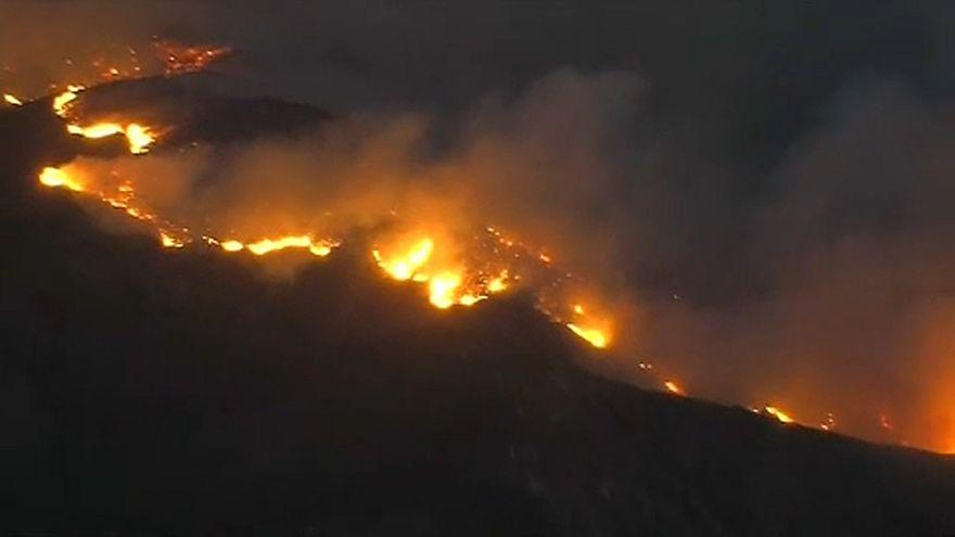 La Californie face aux flammes