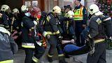 Simulacro de atentado en Budapest