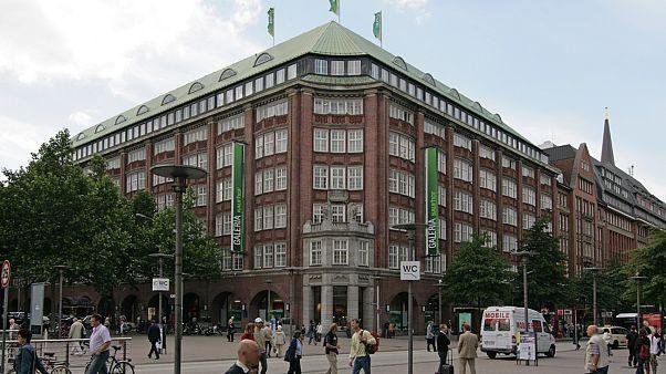 Galeria Kaufhof im Klöpperhaus an der Mönckebergstraße in Hamburg-Altstadt.