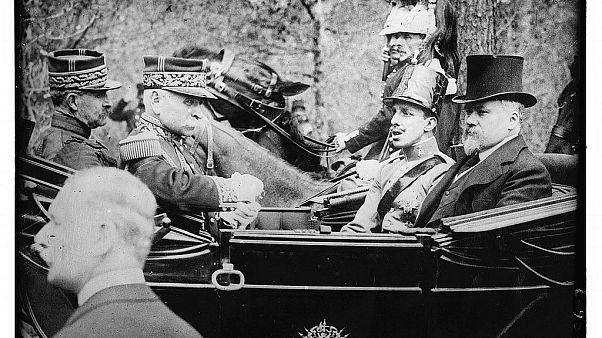 El rey Alfonso XIII en París, Francia, el 7 de mayo de 1913.