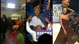 Haftanın 'no comment' videoları: Metroda tabut, seçim dansı, çikolata modası
