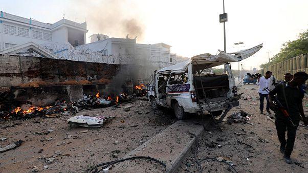 Somali'nin başkenti Mogadişu'da intihar saldırısı
