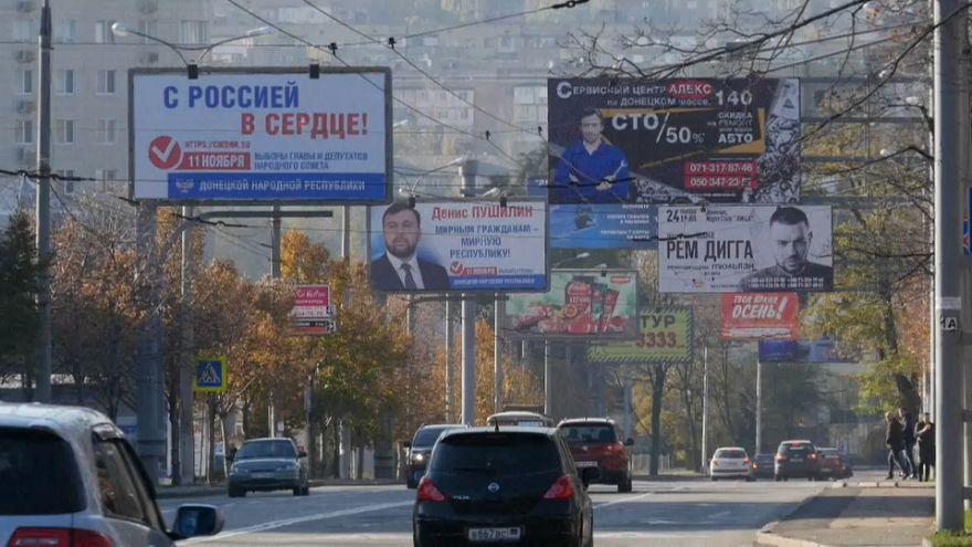 Донецк и Луганск готовятся к выборам, Киев протестует