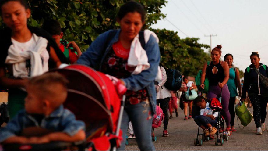 ترامپ فرمان منع ورود کاروان پناهجویان از مرز جنوبی را امضا کرد
