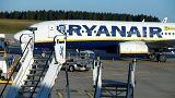 Fransa'ya borcu Ryanair'in uçağının kalkmasına izin verilmedi, şirket 525 bin euro ödedi