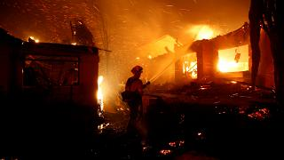 Raging wildfires kill nine people in California