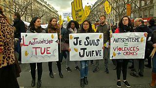 Atos antissemitas registam forte aumento em França