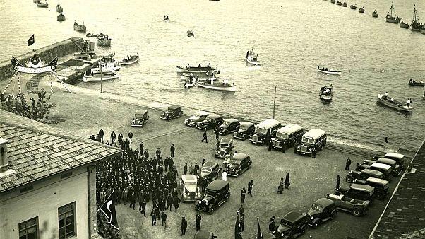 Video | Atatürk'ün 1937 Trabzon ziyareti görüntüleri: Eski TBMM Başkanı Karaduman o günü anlatıyor