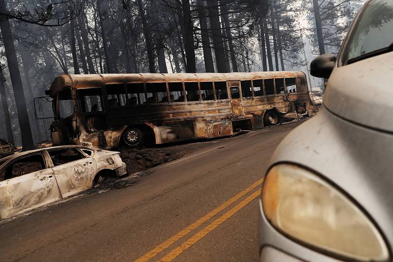 California Wildfires Death Toll Rises to 9