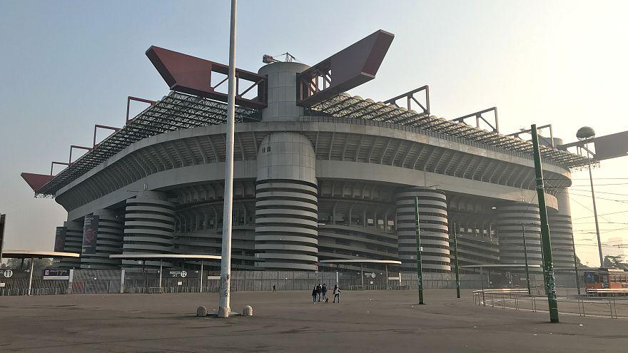 İnter ve Milan takımlarının ortak kullandığı San Siro Stadyumu