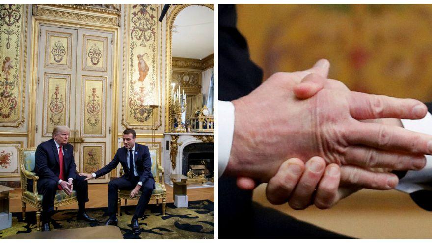 Macron - Trump görüşmesinde Avrupa ordusu gerginliği