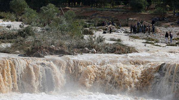 Inondations meurtrières en Jordanie