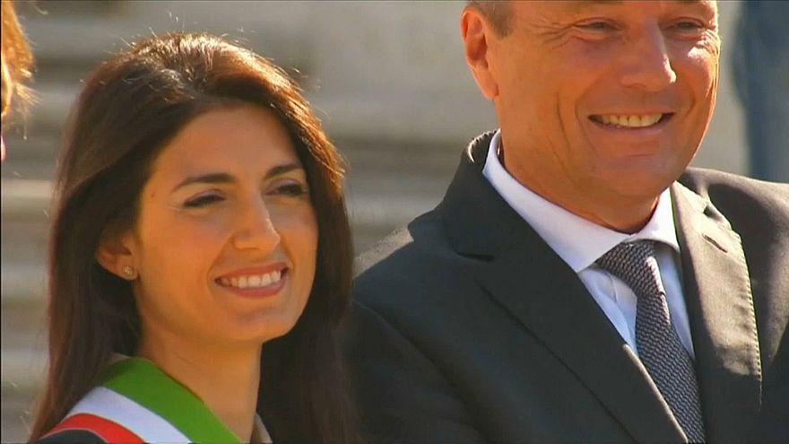 Roms Bürgermeisterin Virginia Raggi