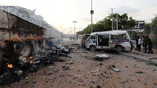 Atentado em Mogadiscio, na Somália