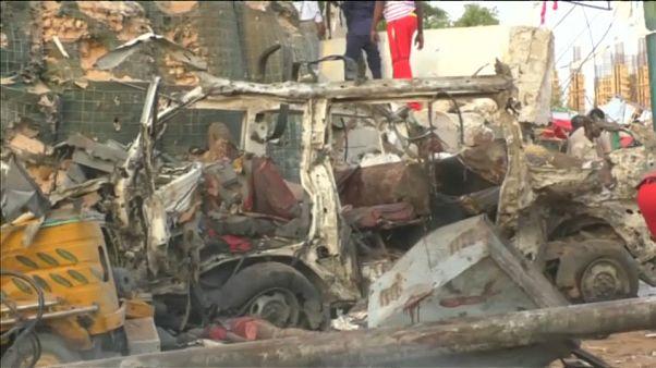 В столице Сомали взорван отель