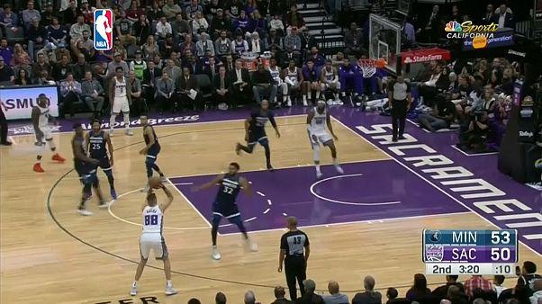 NBA: Sacramento Kings bezwingen Minnesota mit 121:110