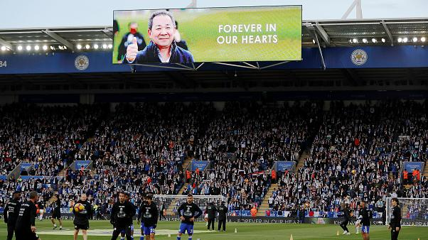 Leicester FC remember their beloved owner with city march