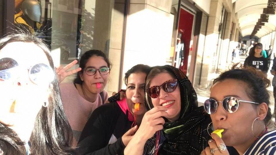 Masaktach: Mit 20.000 Trillerpfeifen gegen sexuelle Gewalt in Marokko