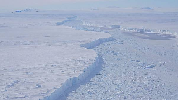 NASA shares first pictures of massive Antarctic iceberg from Pine Island Glacier
