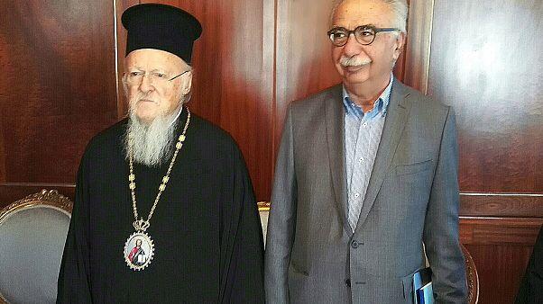 Κ. Γαβρόγλου: «Θα μεταφέρω τους προβληματισμούς του Οικουμενικού Πατριάρχη»