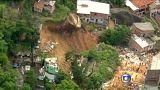 Un deslizamiento de tierras deja 14 muertos en Brasil
