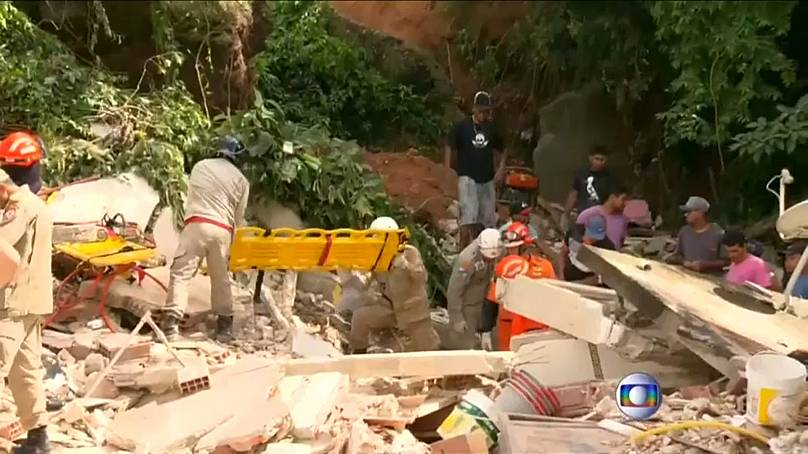 At least ten dead in Brazil landslide