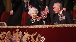 UK royal family attend memorial concert for Armistice Day