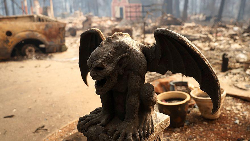 Incêndios: Paradise é agora uma cidade fantasma na Califórnia