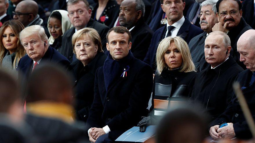 قادة العالم يحيون في باريس الذكرى المئوية لهدنة الحرب العالمية الأولى