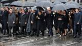 یک قرن بعد از پایان جنگ جهانی نخست؛ رهبران دنیا در پاریس