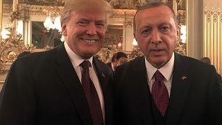 Trump ve Erdoğan Paris'te Kaşıkçı cinayetine verilecek tepki hakkında konuştu