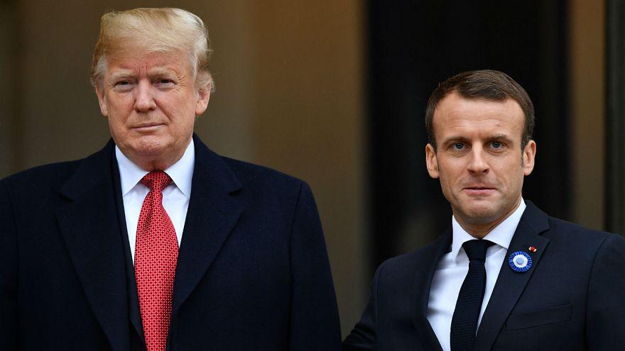 Trump Paris ziyareti