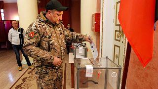 Εκλογές στην ανατολική Ουκρανία