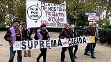 Aumentan las protestas contra el Tribunal Supremo