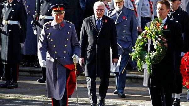 Steinmeier in London: Weltkriegsgedenken erstmals mit deutschem Staatsoberhaupt