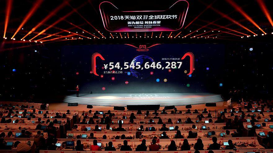 Bekarlar Günü indirimli satışlarında Alibaba rekor üstüne rekor kırdı