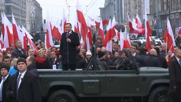 """Polonia, i 100 anni dell'Indipendenza. Con tensioni """"di destra"""""""