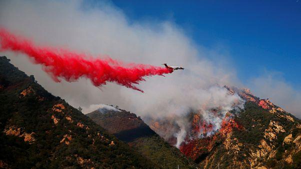 Kaliforniya'da şeytan rüzgarlarıyla şiddetlenen orman yangınlarında can kaybı 31'e çıktı