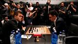2018 World Chess Championship - Magnus Carlsen v Fabiano Caruana, 1st match