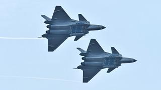 China shows off stealth planes that could knock America's best out of the air