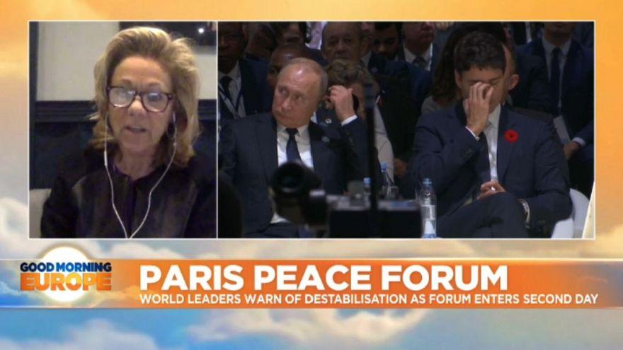 Paris Peace Forum: Political Warnings