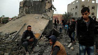 حملات هوایی اسرائیل به نوار غزه دست کم هفت کشته برجای گذاشت