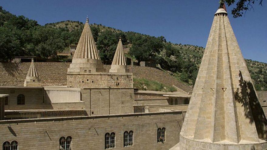 نمایی از معبد لالش در شمال عراق/ ۲۰۰۳