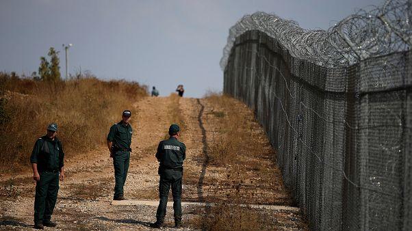 Bulgarian border with Turkey, 2016