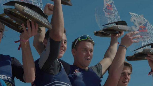 Genç ve yetenekli denizciler Red Bull Foiling Generation'da kozlarını paylaştı