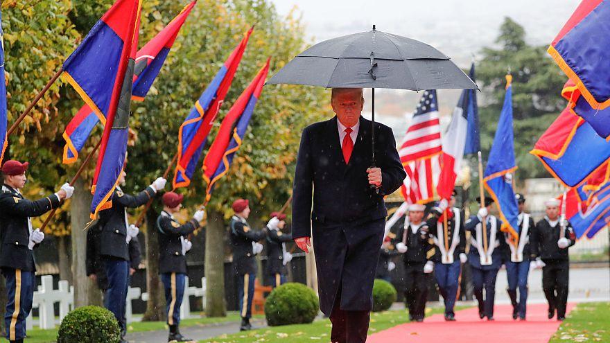 Donald Trump Paris'te