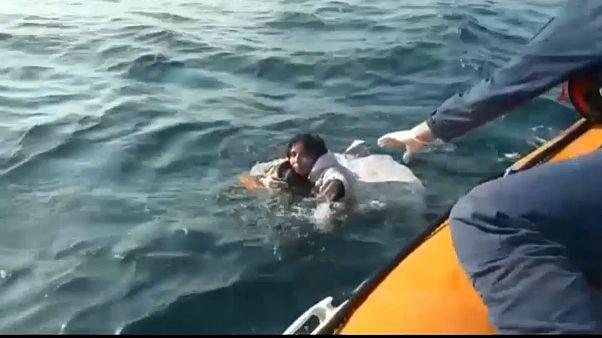 پنج کشته در پی غرق شدن قایق حامل مهاجران در غرب ترکیه