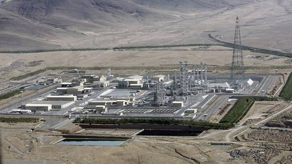 İran'ın Arak kentindeki ağır su nükleer tesisi