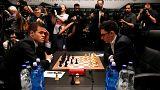 هیجان تساوی دو استاد بزرگ شطرنج در مسابقات قهرمانی جهان